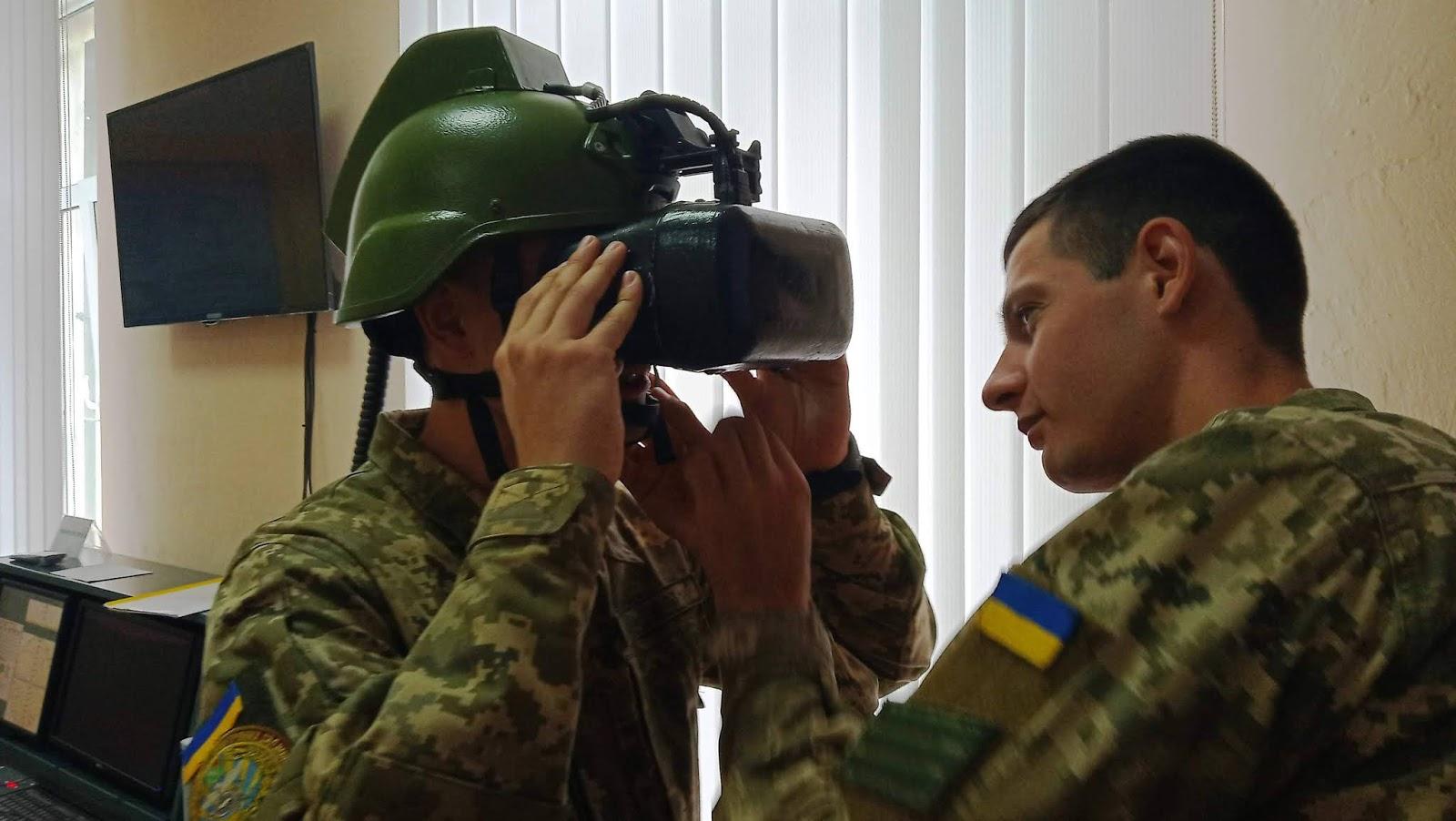 тренажер ПЗРК з шоломо доповненої (віртуальної) реальності