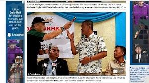 Nelayan Indonesia Disumpah di Bawah Al Quran, Mengaku Lihat Jatuhnya Pesawat Malaysia Airlines MH370