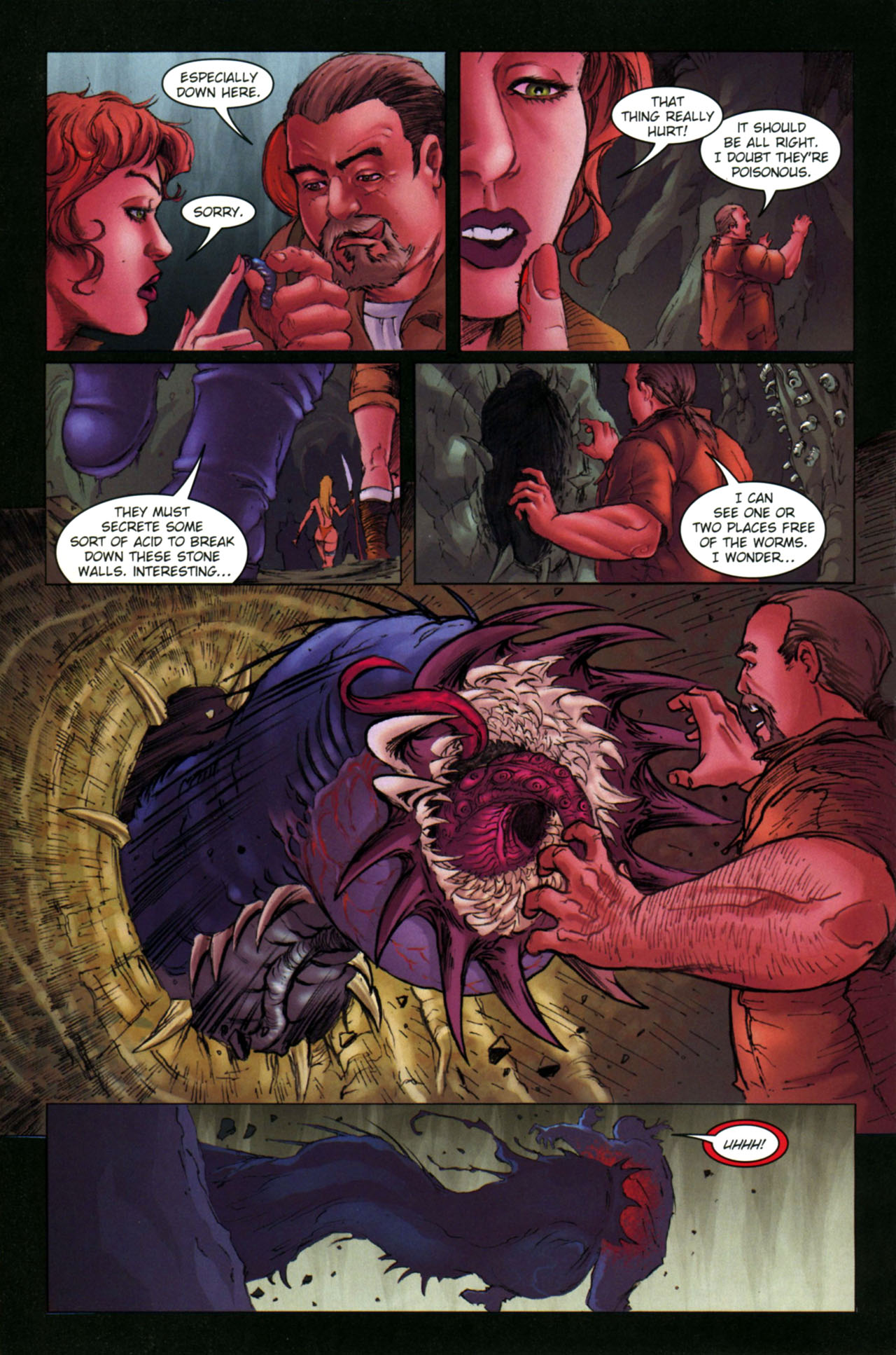 Read online Jungle Girl comic -  Issue #4 - 19