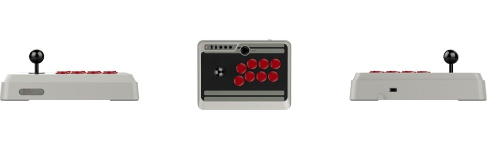 8Bitdo N30 Arcade Stick (Joystick) (PC/Android/Mac/iOS/Nintendo Switch)