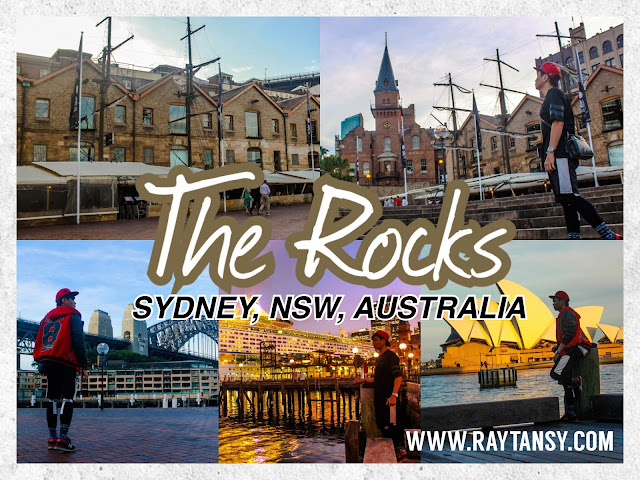 Ray Tan 陳學沿 (raytansy) ; The Rocks @ Sydney City (CBD), New South Wales, Australia 悉尼岩石區 澳洲澳大利亞 新南威尔士州