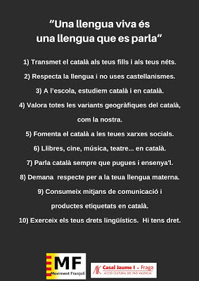 decàleg,català,llengua, franja, moviment, franjolí