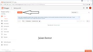 Cara Memposting Artikel di Blog dengan gampang Cara Memposting Artikel