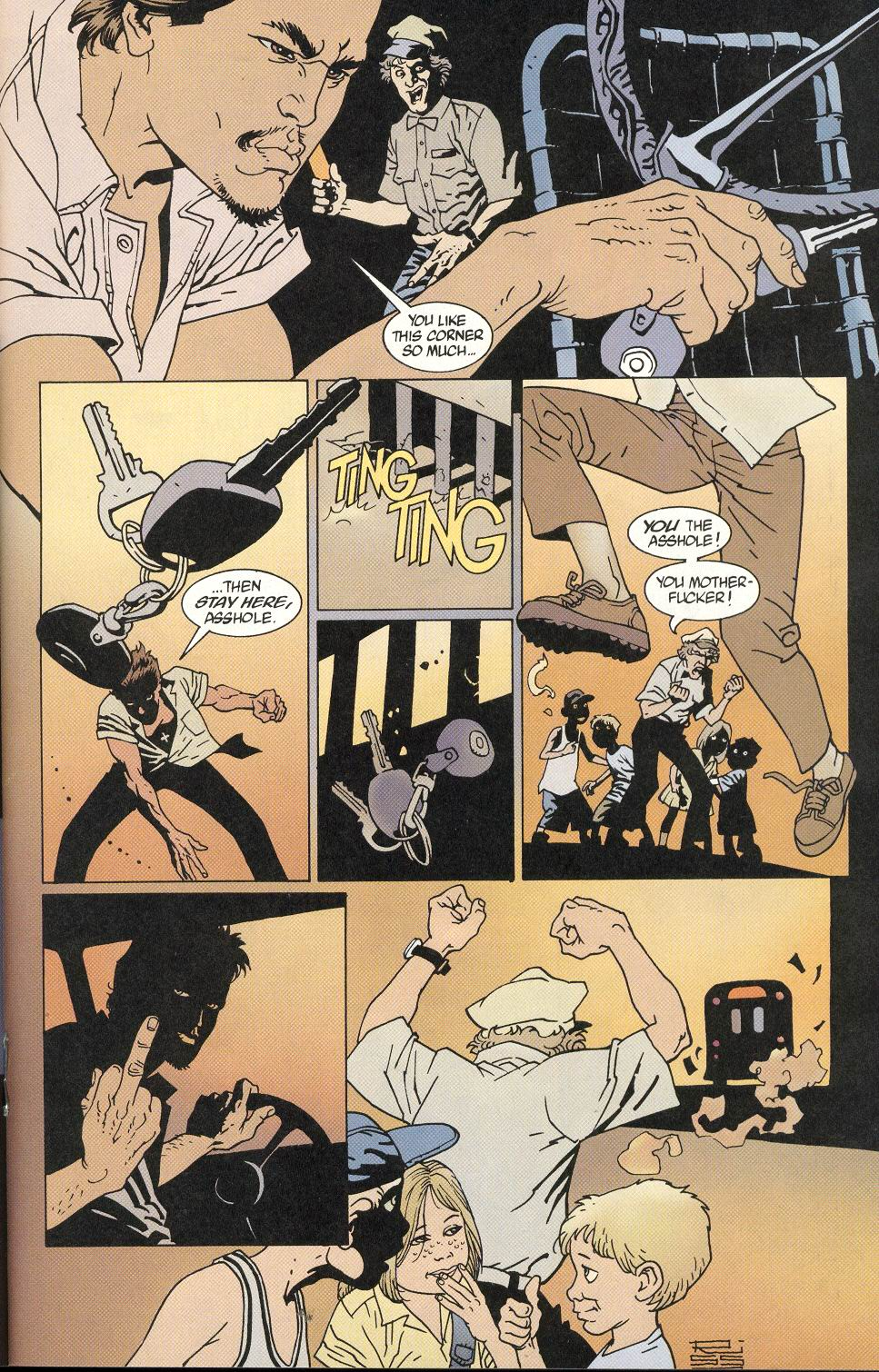 Read online 100 Bullets comic -  Issue #9 - 15