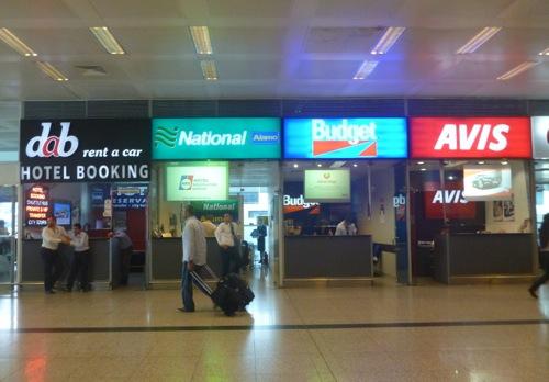 Locadoras de carro da Turquia - Aeroporto Istambul
