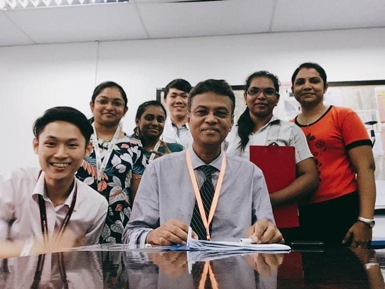 Mentor-Mentee Programme at the Asia Metropolitan University (AMU), Malaysia, 2017