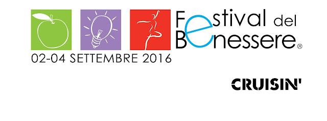 Festival del Benessere, dal 2 al 4 settembre 2016 a Riccione, Cattolica, Misano     Festival del Benessere è uno spazio tempo di conoscenza e di condivisione dove la parola ed il movimento rappresentano l'equilibrio tra il corpo e la mente e si fondono spontaneamente con il concetto di benessere, salute e prevenzione.