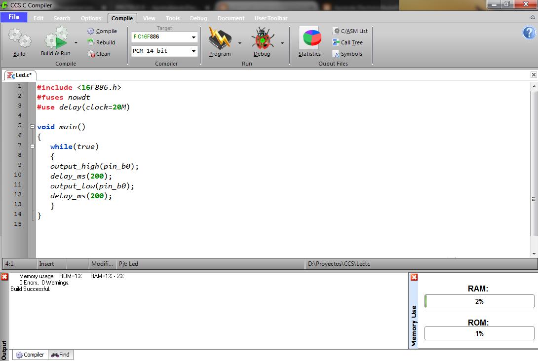 Aprende Electrónica: PIC C Compiler CCS