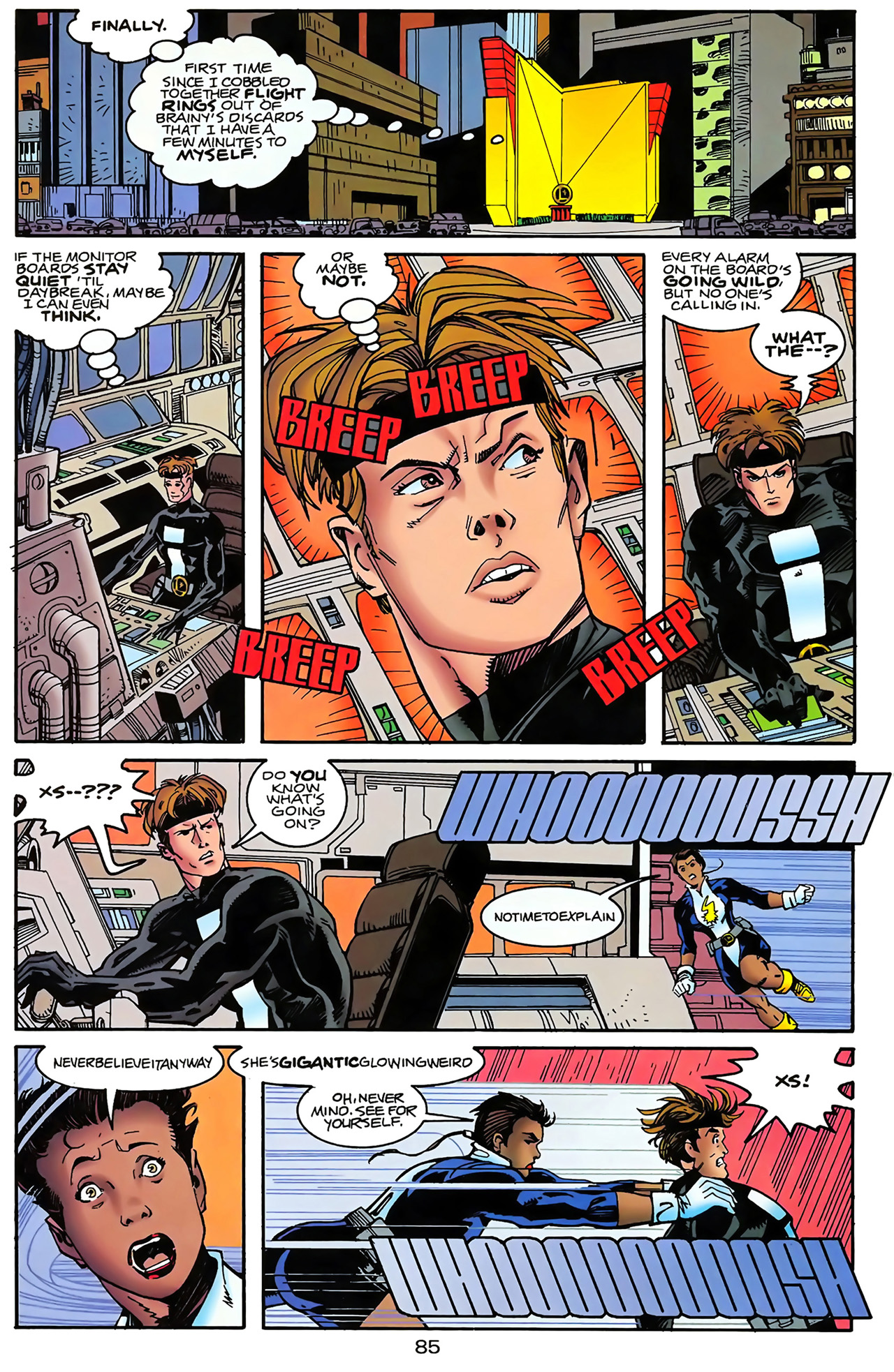 Legion of Super-Heroes (1989) 100 Page 77