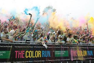 The Color Run Dream World Tour - Milano - THE COLOR RUN 2016 - photo Ansa