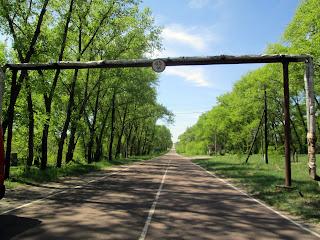 Carreteras sin vehículos en Chernobyl