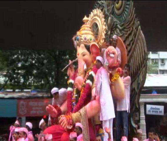 Lalbaugcha Raja Visarjan 2016 Live
