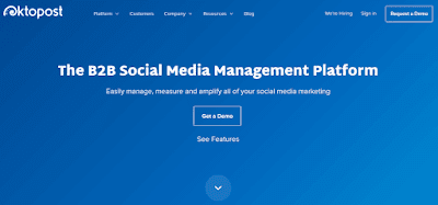 OktoPost social media management tool