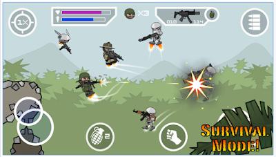 Game Doodle Army 2 : Mini Militia