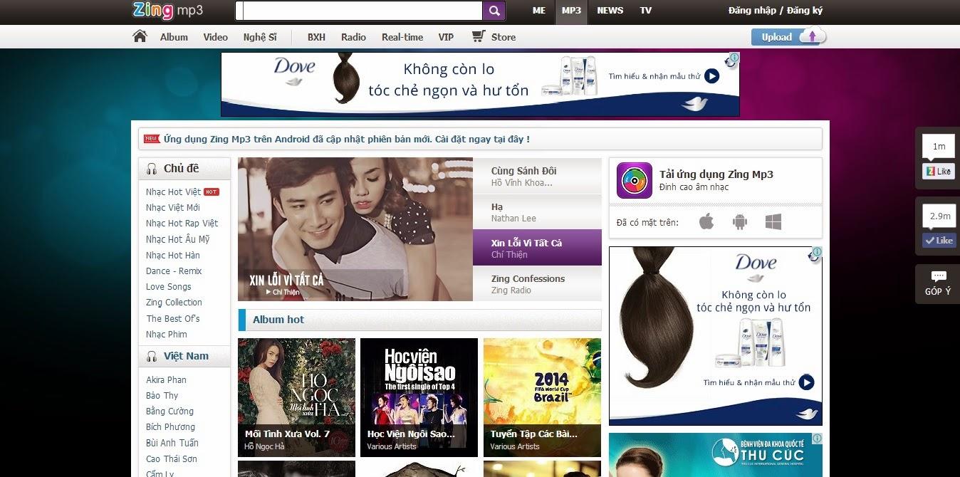 dịch vụ thiết kế web giải trí