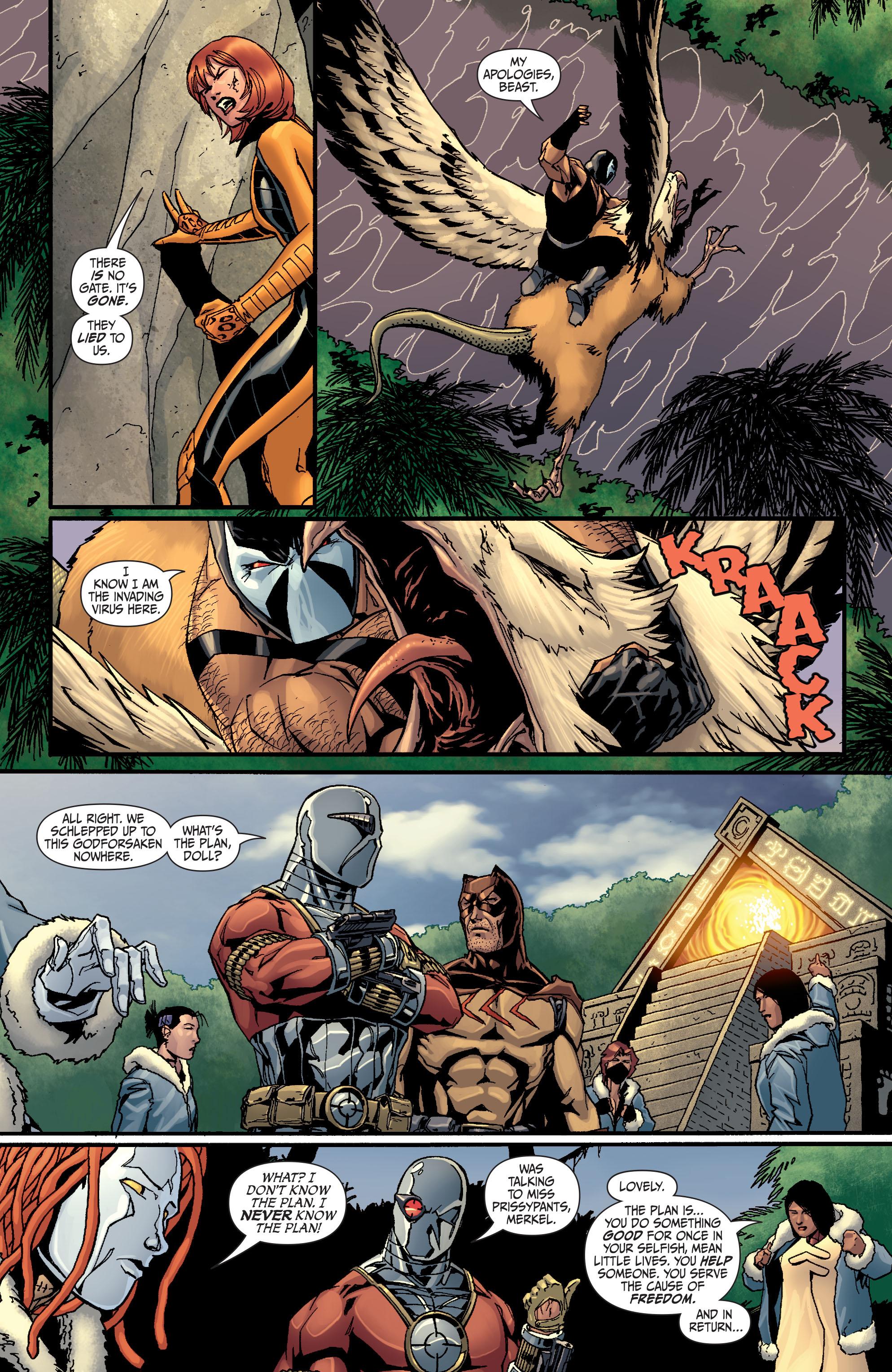 Read online Secret Six (2008) comic -  Issue #25 - 20