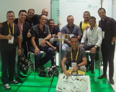 A Building & B.Lux recebe visita de clientes e representante da Paraíba