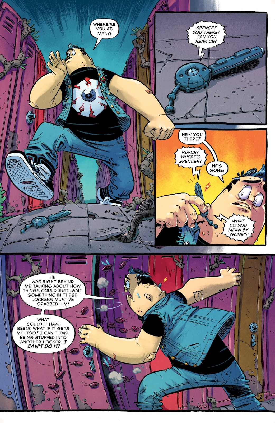 Read online Bully Wars comic -  Issue #4 - 19