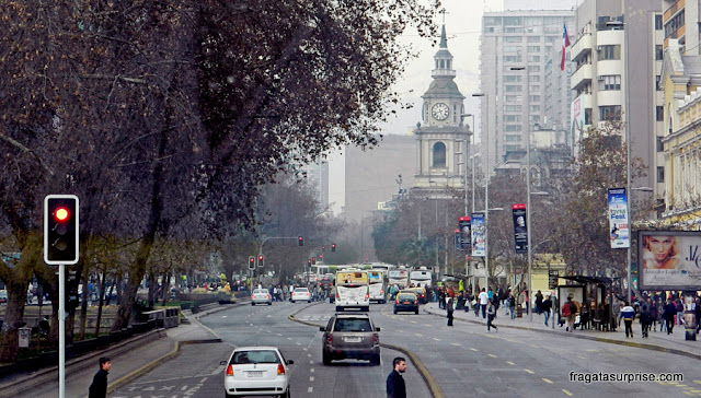 Avenida Libertador General Bernardo O'Higgins, Santiago do Chile