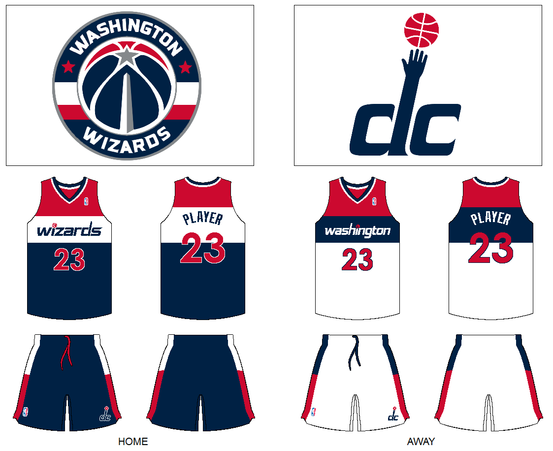 8b23ca1da ... jersey 594ad e5e9b  wholesale thought about going back to the bullets  name but decided to just keep wizards and