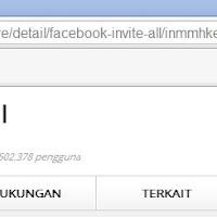 Cara Undang Semua Teman Agar Like/Suka Fans Page Facebook Secara Otomatis