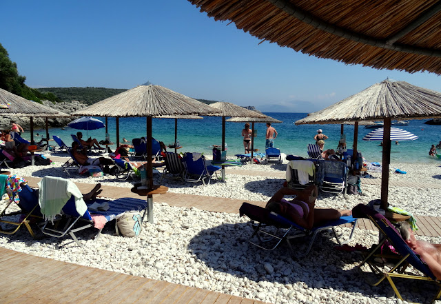 Amousa Beach in Lefkada
