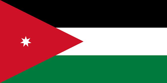 Flag of Jordan | Jordanian Flag | Jordan National Flag