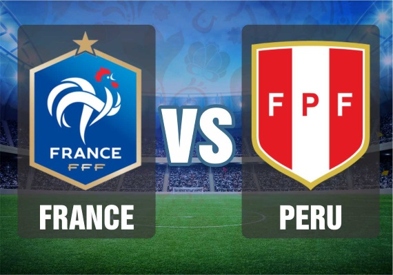 France vs Peru - 2018 World Cup