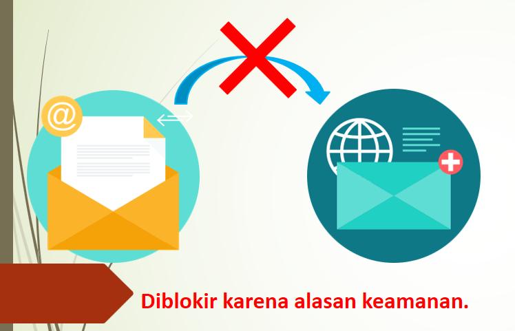 email di blokir