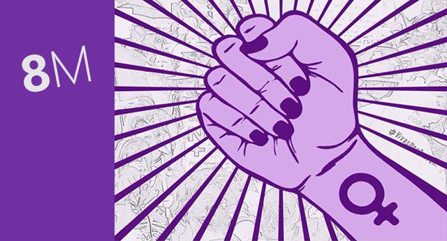 Convocatorias 8 de marzo, Día Internacional de la Mujer Trabajadora