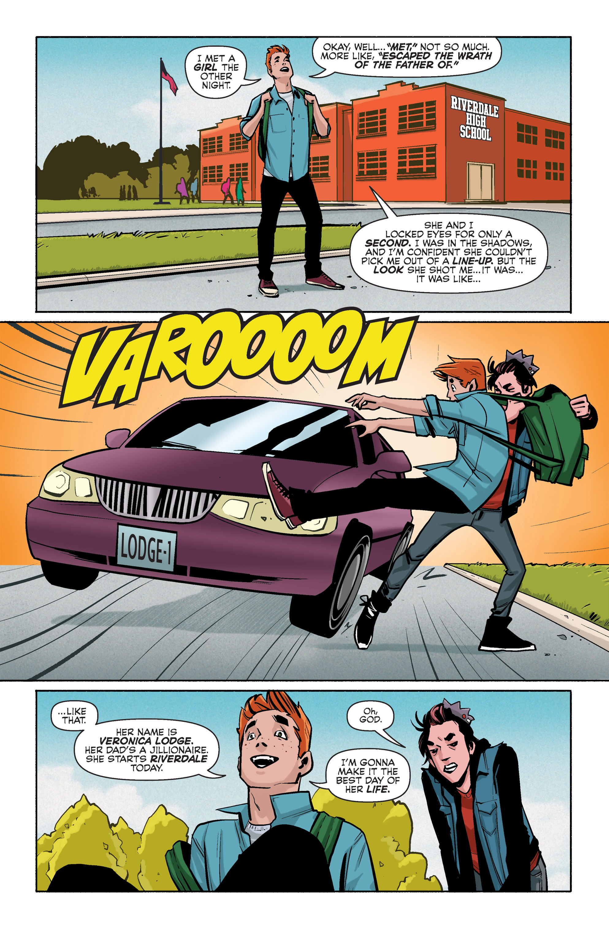 Read online Archie (2015) comic -  Issue #3 - 3