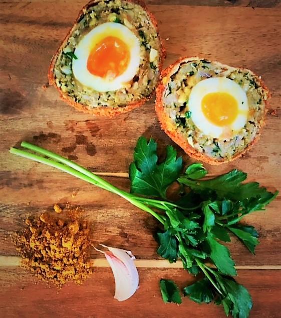 Curried Scotch Eggs