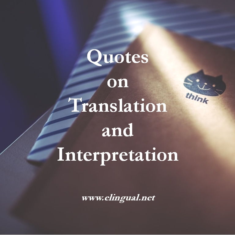 English In Italian: Quotes On Translation And Interpretation