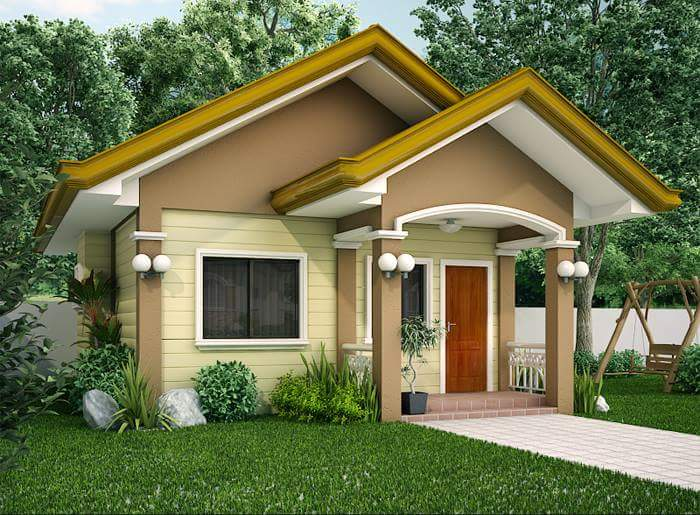 Design Your Own Home Through This External Small House Designs Images,  Check The Design Of The House, And The Example Of Floor Plans For Homes.