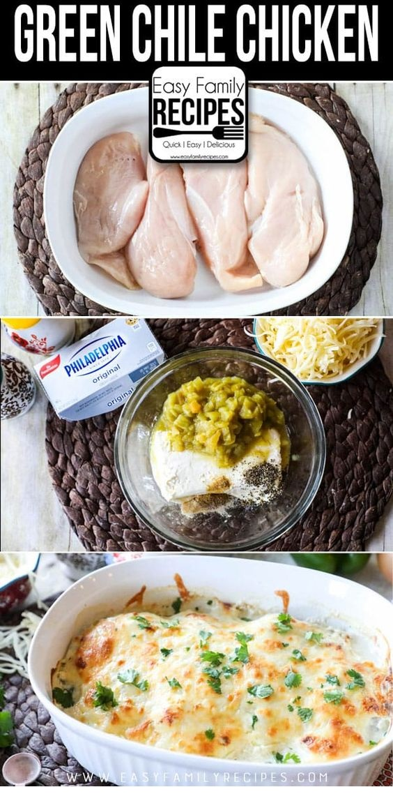 Keto Green Chile Chicken