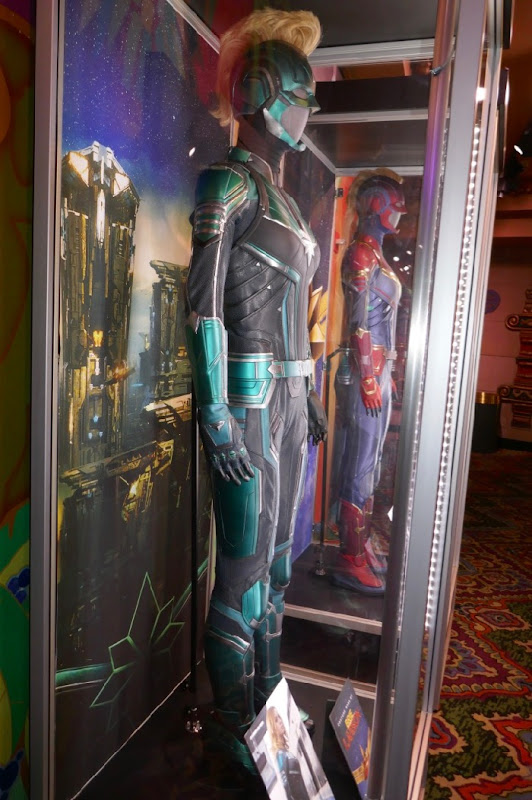 Brie Larson Captain Marvel Starforce uniform