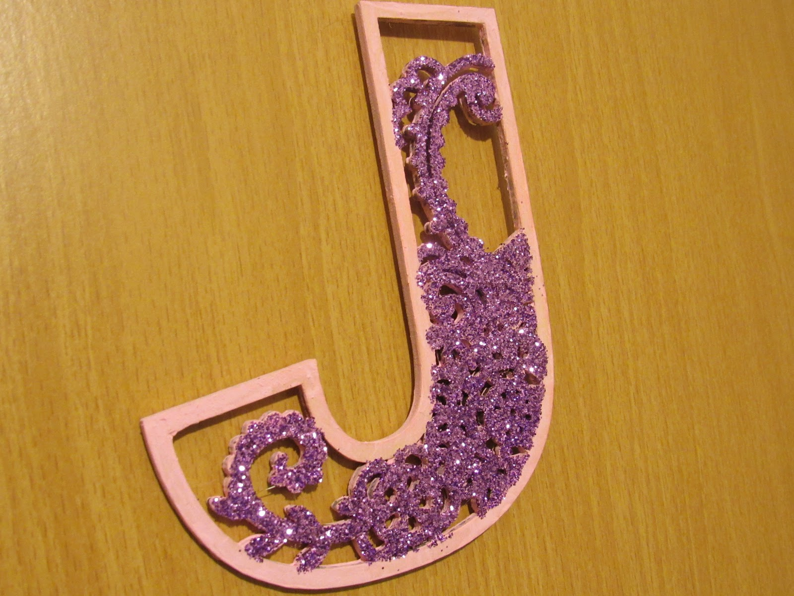 Blooming Fiction, Sparkly Door Letter