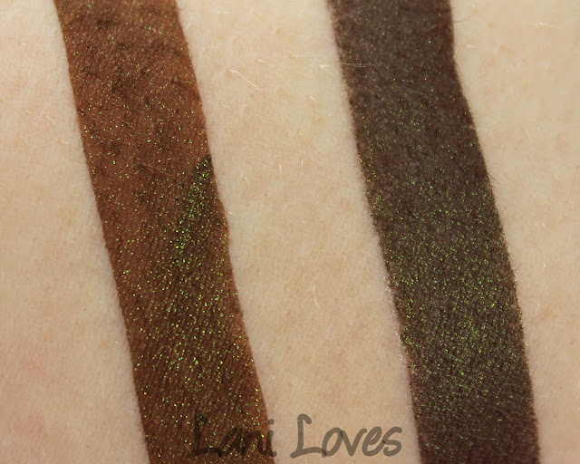 Innocent + Twisted Alchemy - Cold & Dirty Eyeshadow Swatches & Review