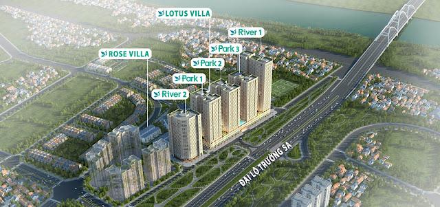 Phân khu dự án EuroWindow River Park