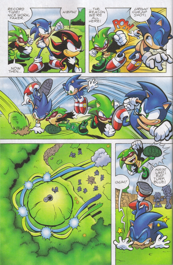 Read online Sonic The Hedgehog comic -  Issue #161 - 11