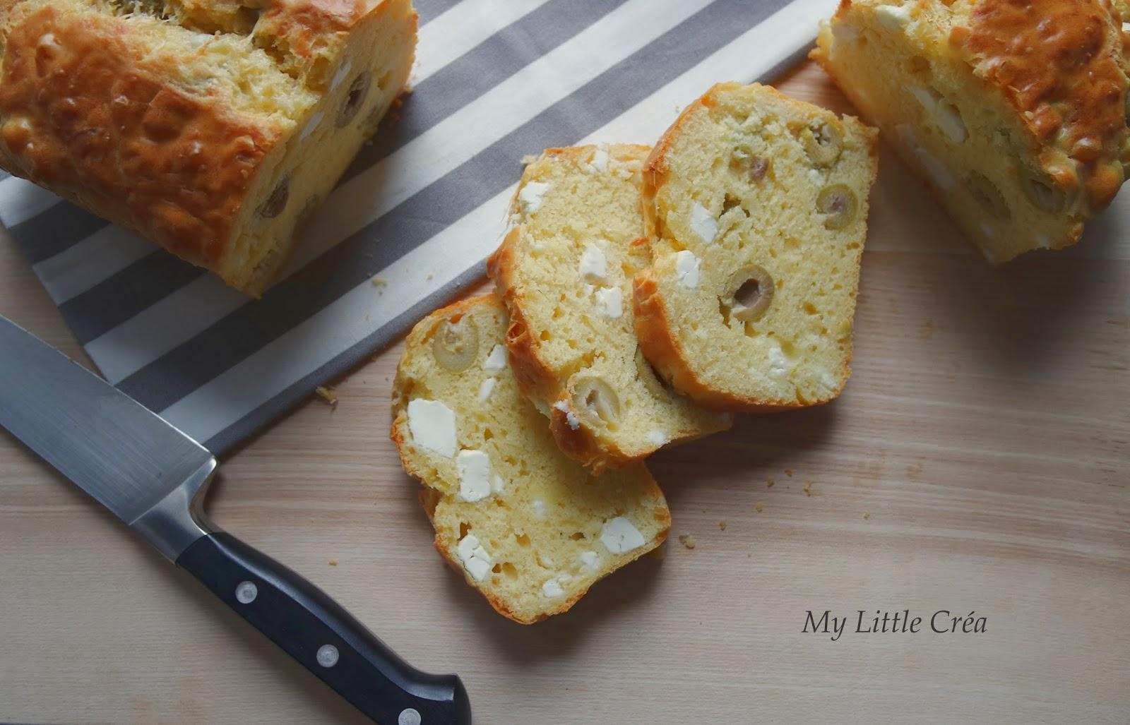 Cake Olives Vertes Feta