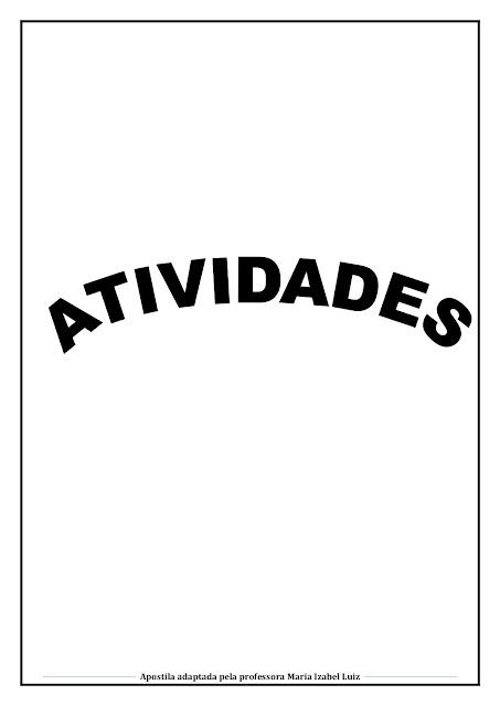 FOLCLORE ATIVIDADES