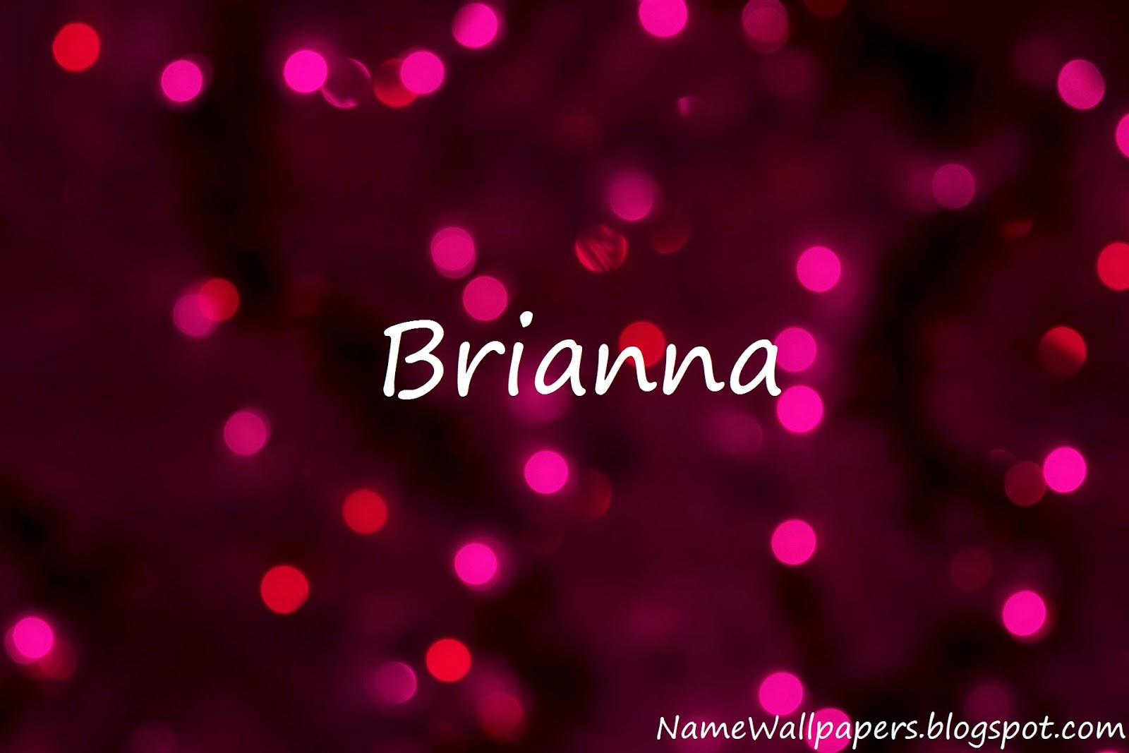 Brianna   Na...T B H Meaning