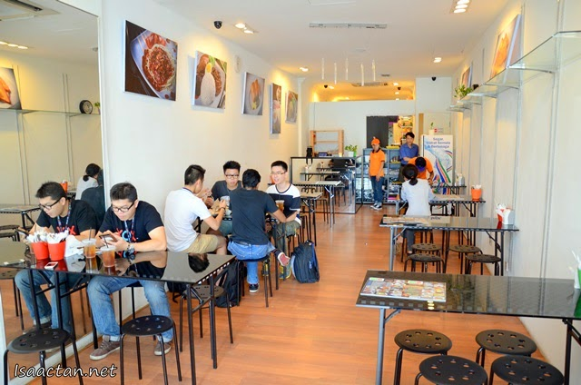 Simple, nice decor of Kopi Corner