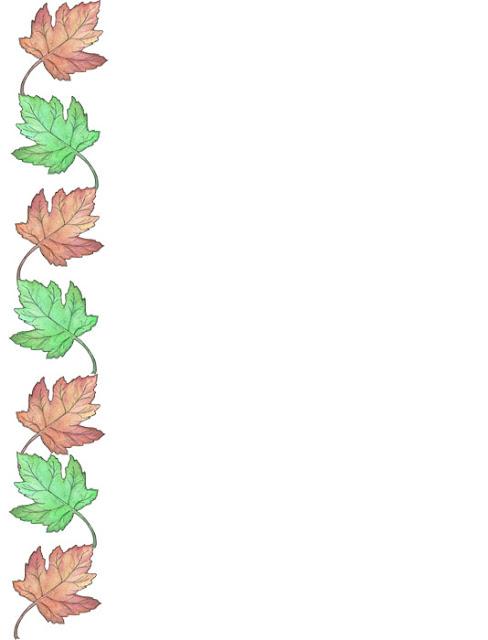 Bordes decorativos bordes decorativos de hojas para imprimir for Plantas decorativas hojas