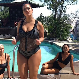 Ashley Graham drummed up attention with a photo shoot for her collection
