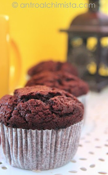 Double Chocolate Chunk Muffins di Nigella