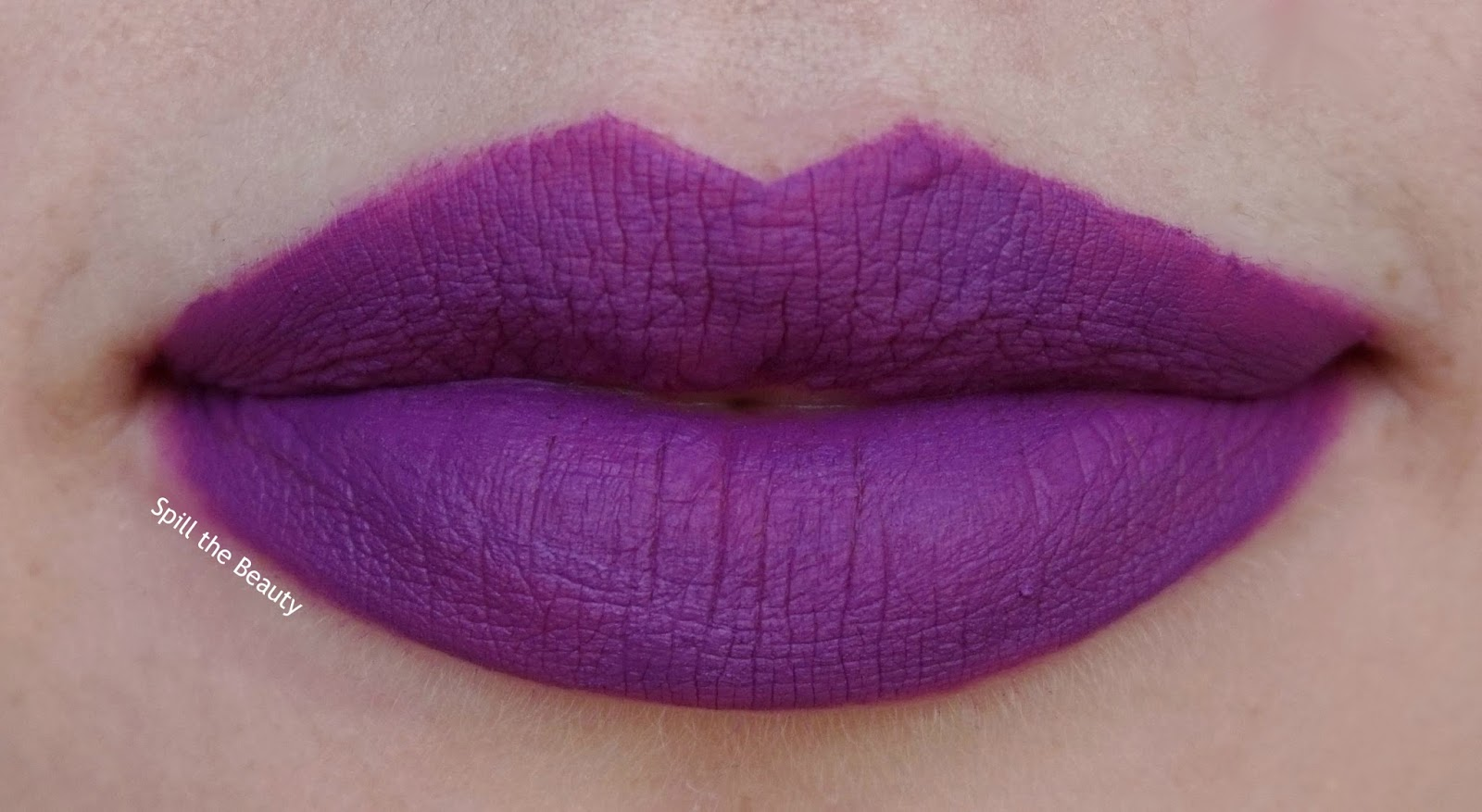 unicorn - lips too faced melted mattes review swatch