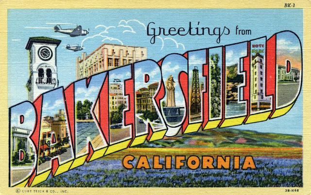 1943. Bakersfield, California