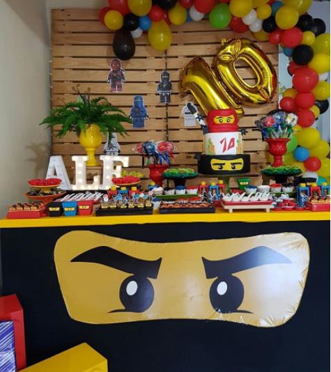 Decoracion Fiesta Lego La Pelicula Ecosia